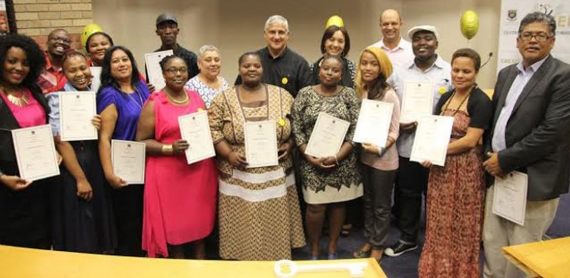 CEI celebrates first graduation